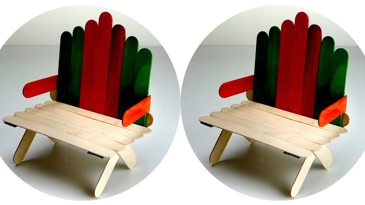 Popsicle Stick Chair | Sante Blog