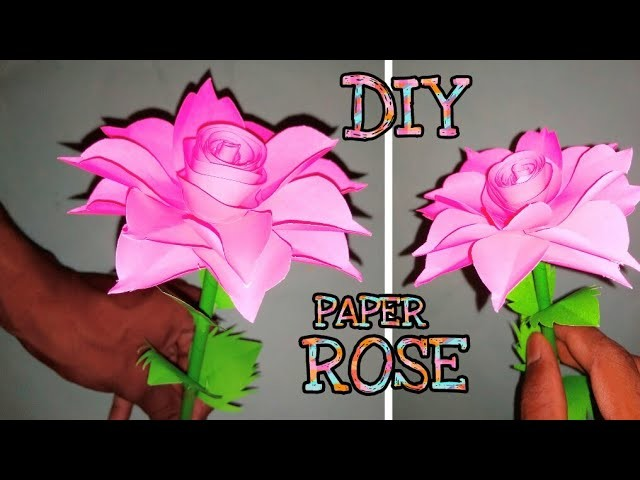 How to make paper flower origami rose diy paper crafts how to make paper flower origami rose diy paper crafts paper flowers paper rose mightylinksfo