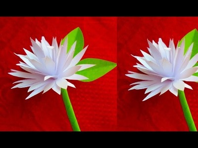 How to make paper flowers | Baily flowers| Paper Flowers Pro Diy