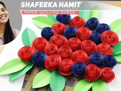 How To Make Paper Rose Flower-DIY Handmade Craft-Paper Craft