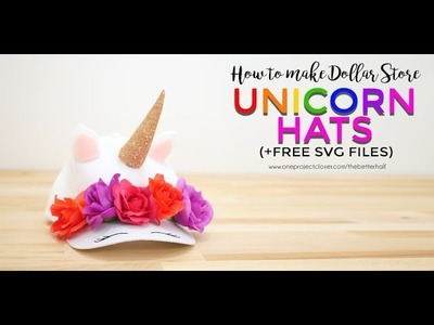 How to Make Unicorn Hats