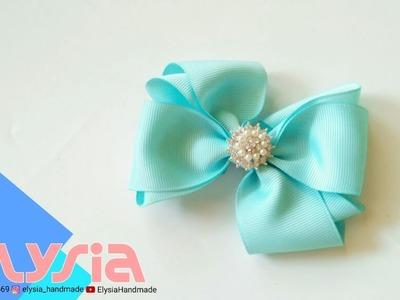 Laço Audy ???? #Ribbon Bow ???? DIY by Elysia Handmade