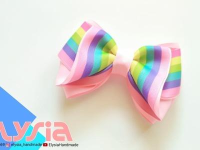 Laço Kayla ???? Kayla #Ribbon Bow ???? DIY by Elysia Handmade