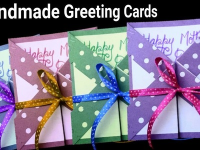 Mother Day Card | DIY Easy Greeting Cards Tutorial |