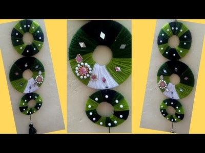 New Best craft idea out of waste materials l Wall hanging DIY l