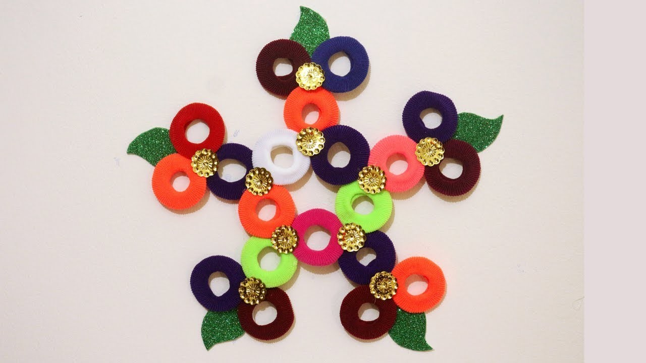 New Wall Hanging Ideas From Best Out Of Waste Craft Idea For Home