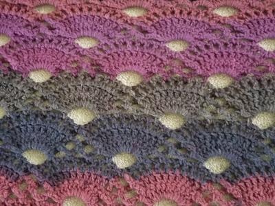 Part 2 - The Lakeside Shawl Crochet Tutorial! (Repeat & Edging)