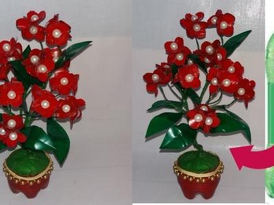 Plastic bottle craft idea || how to make plastic bottle flower || Best out of waste || dustu pakhe||