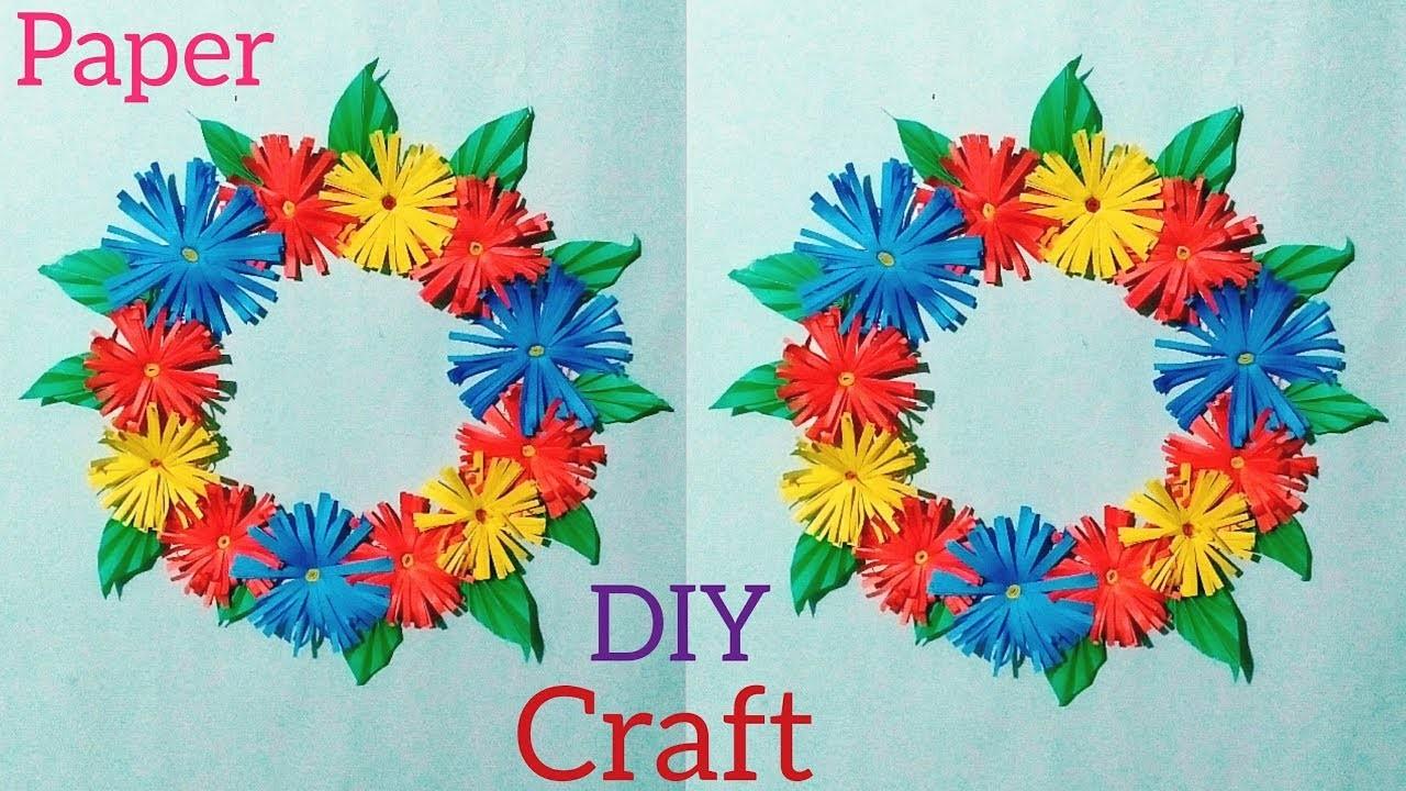 Simple Diy Craft Ideas Paper Make Whelmed Tutorial Home Decoration