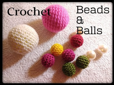 Simple method???? How to do crochet on bead & ball ????| DIY CROCHET BEAD PATTERN