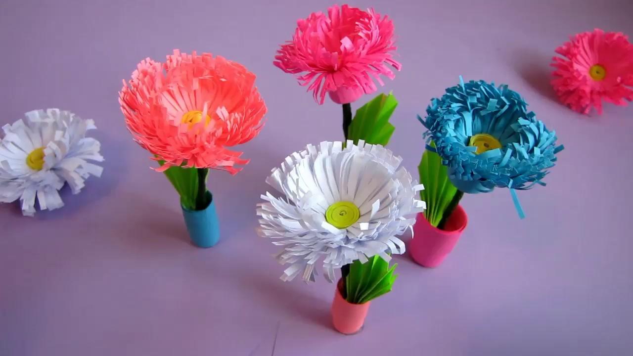 Paper Quilling Flower Bokeh Flowers Healthy