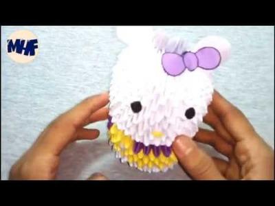 কাগজ দিয়ে সুন্দর পুতুল তৈরী করুন | How to make Cute Doll| Paper Doll | Origami Tutorial.