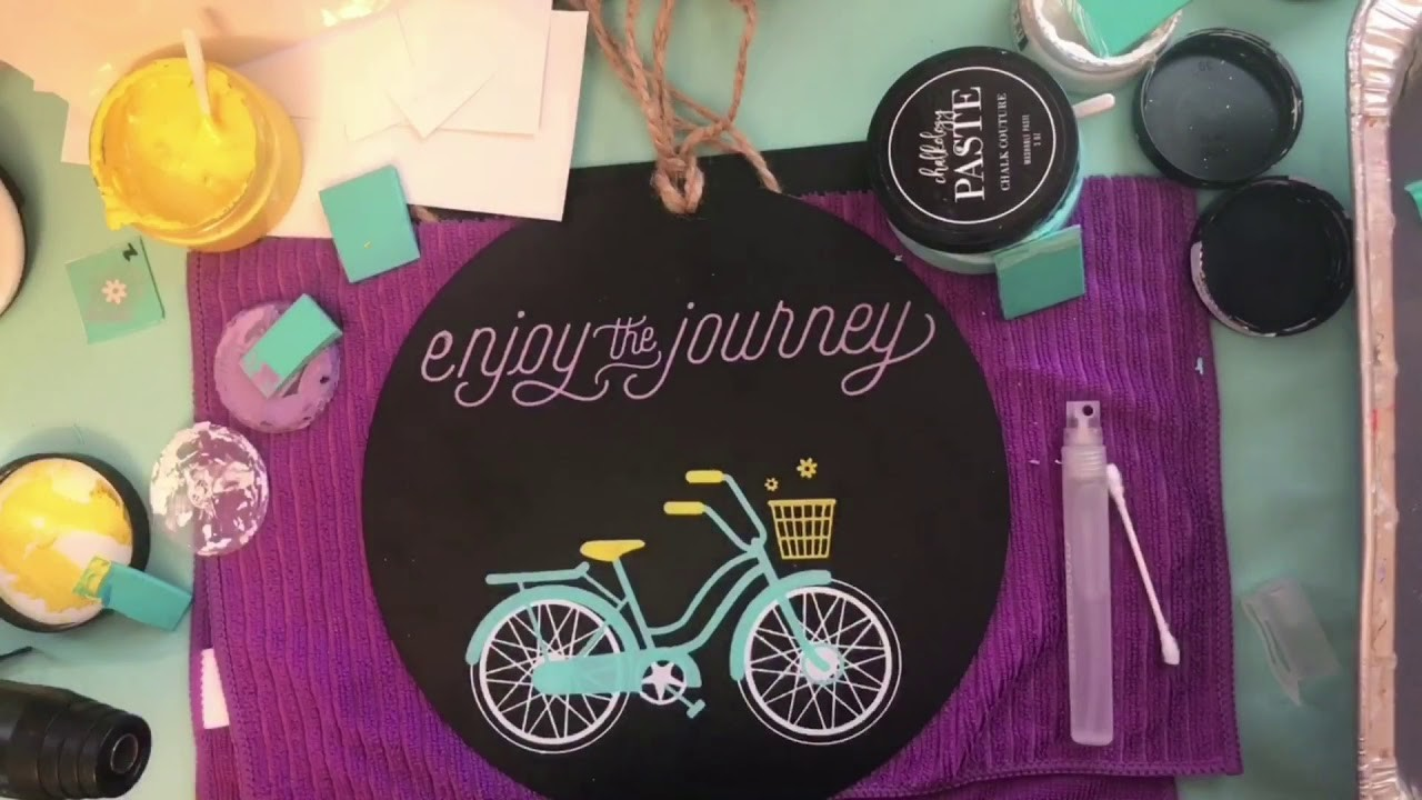 Chalk Couture How To- Enjoy The Journey