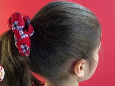 DIY How to make a Scrunchie - Easy Way to Make Hair Scrunchie!