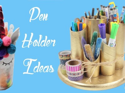 DIY Pen Holder Ideas - How To Make Pen Holder - Easy Project