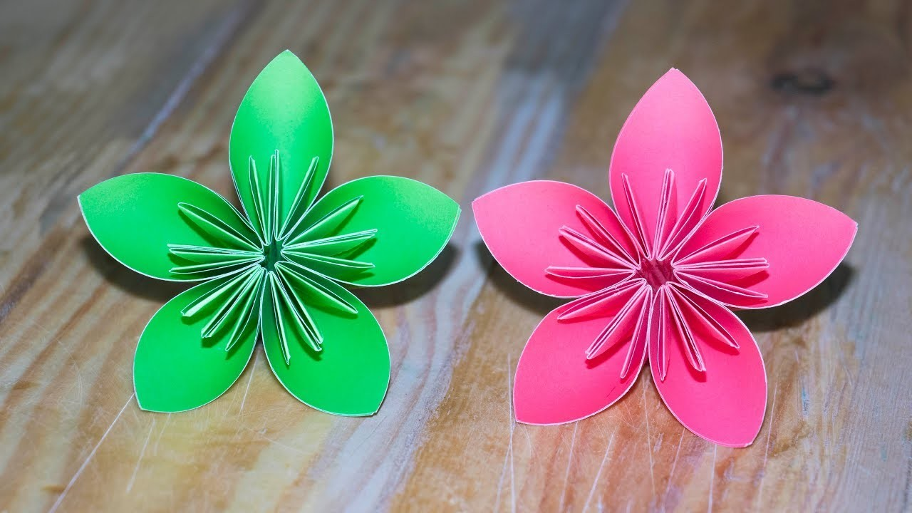 Easy Crafting Ideas How To Make Paper Flowers Flower Making Paper
