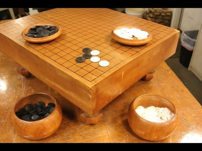 Go problems: how to restore a Go board and game set? (Goban, stones, and bowls)