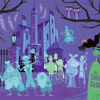 Haunted Mansion Cross Stitch Pattern***LOOK***X***INSTANT DOWNLOAD***