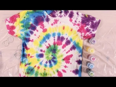 How to Achieve the Classic Tie-Dye Pattern