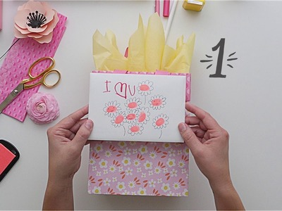 How to Add Flowers to a Gift