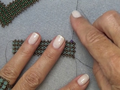 """""""How To"""" Add Thread To A Beaded Project"""