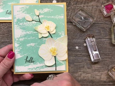 How to create a simple Climbing Orchid Card