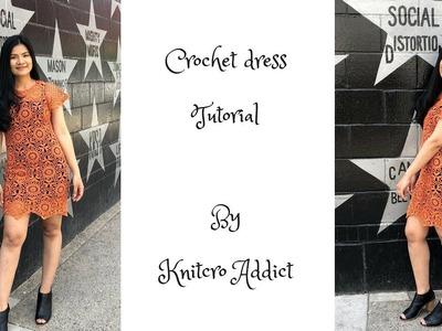 How to crochet summer dress - Part 2