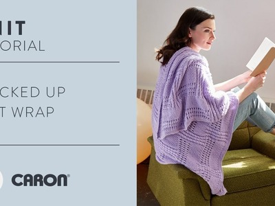 How to Knit the Stacked Knit Wrap