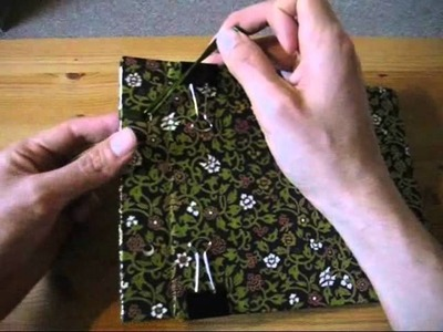 How to make a book with Japanese binding