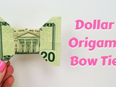 How to Make a bow tie from a dollar