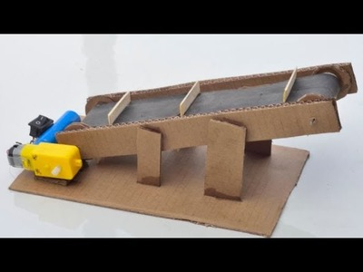 How to Make a Conveyor Belt (very easy)