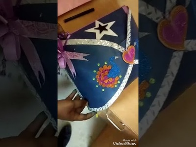 How to make a farewell party card.how to make invitation card.party card.