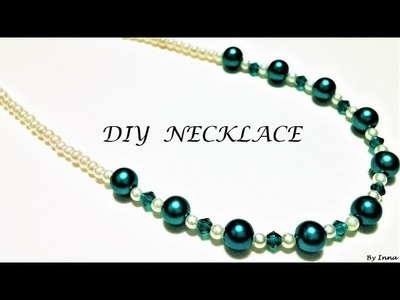 How to make a necklace in less than 5 min