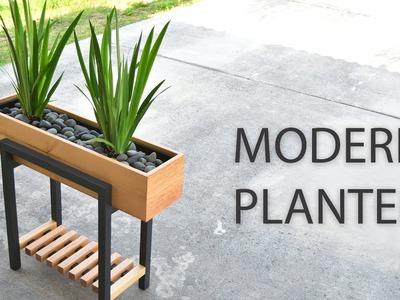 How to make a RAISED PLANTER BOX