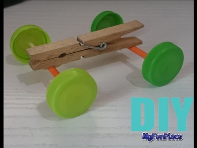 How To Make A Toy Car - Very Easy