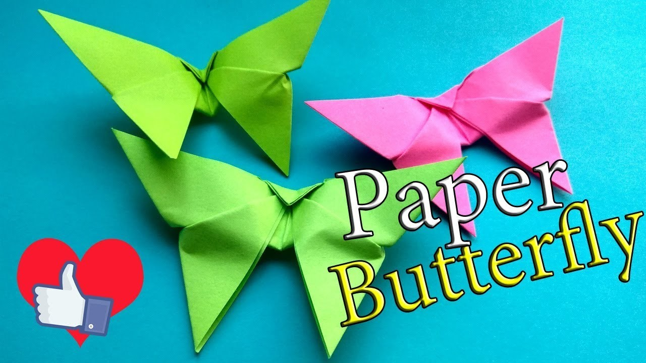 how to make an origami butterfly easy paper butterfly for