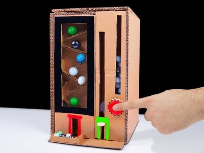 How to Make Bubble Gum Run Game from Cardboard