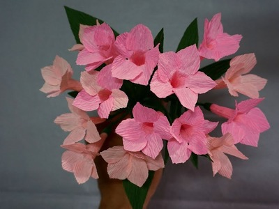 How to make Garlic Vine Flower from Paper - Paper Flower Tutorials That You Can Follow Today