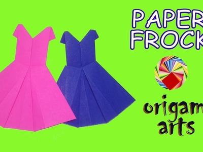 """How To Make """"PAPER FROCK"""" - Origami Arts"""