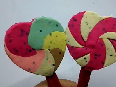 How To Make Rainbow Ice Cream  - Play Doh  I Widy Toys