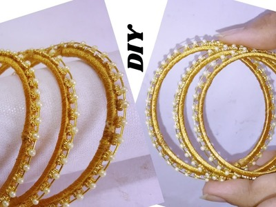 How to make thin pearl bangles | jewellery tutorials