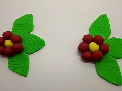 How to make Two Flowers - Play Doh I Widy Toys