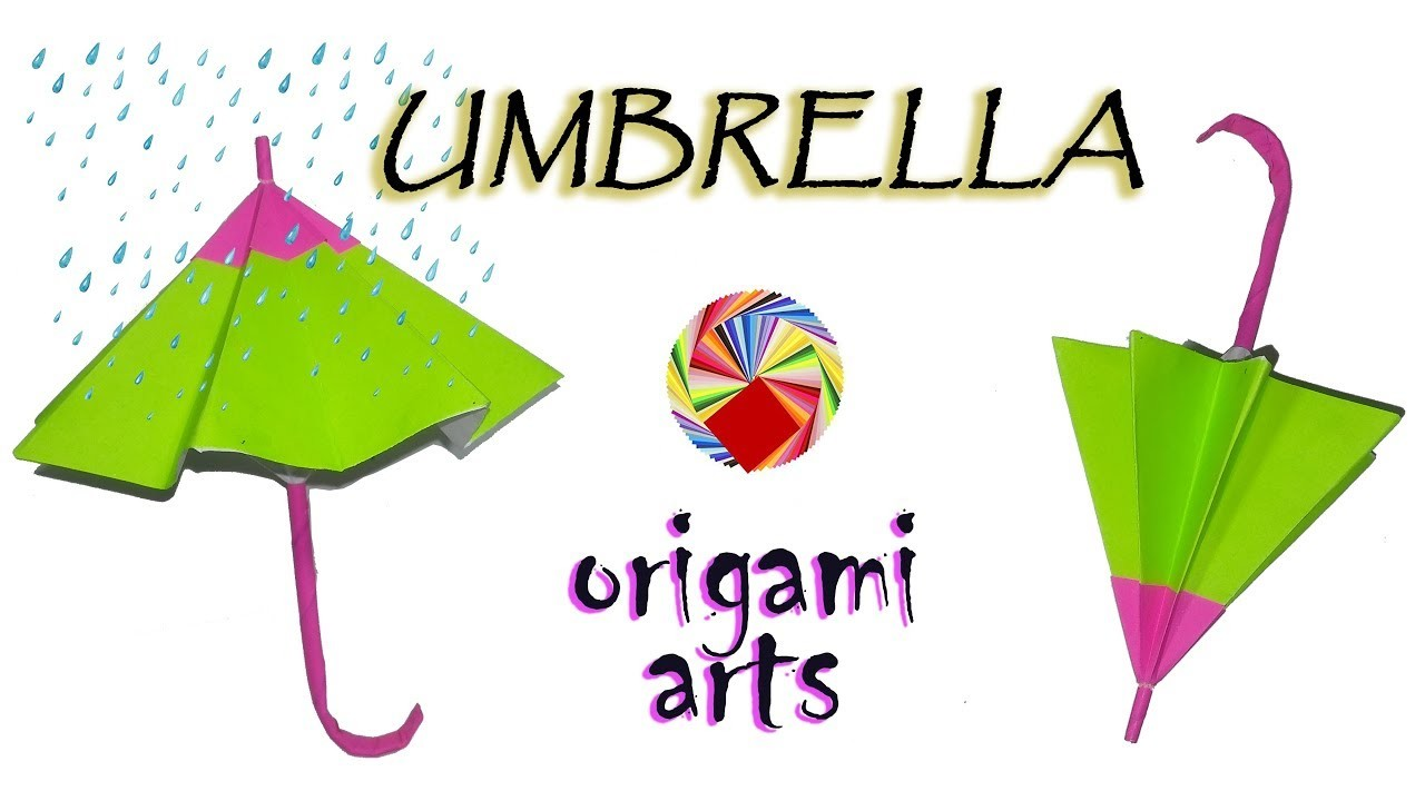 How To Make ????UMBRELLA ☔ - Origami Arts