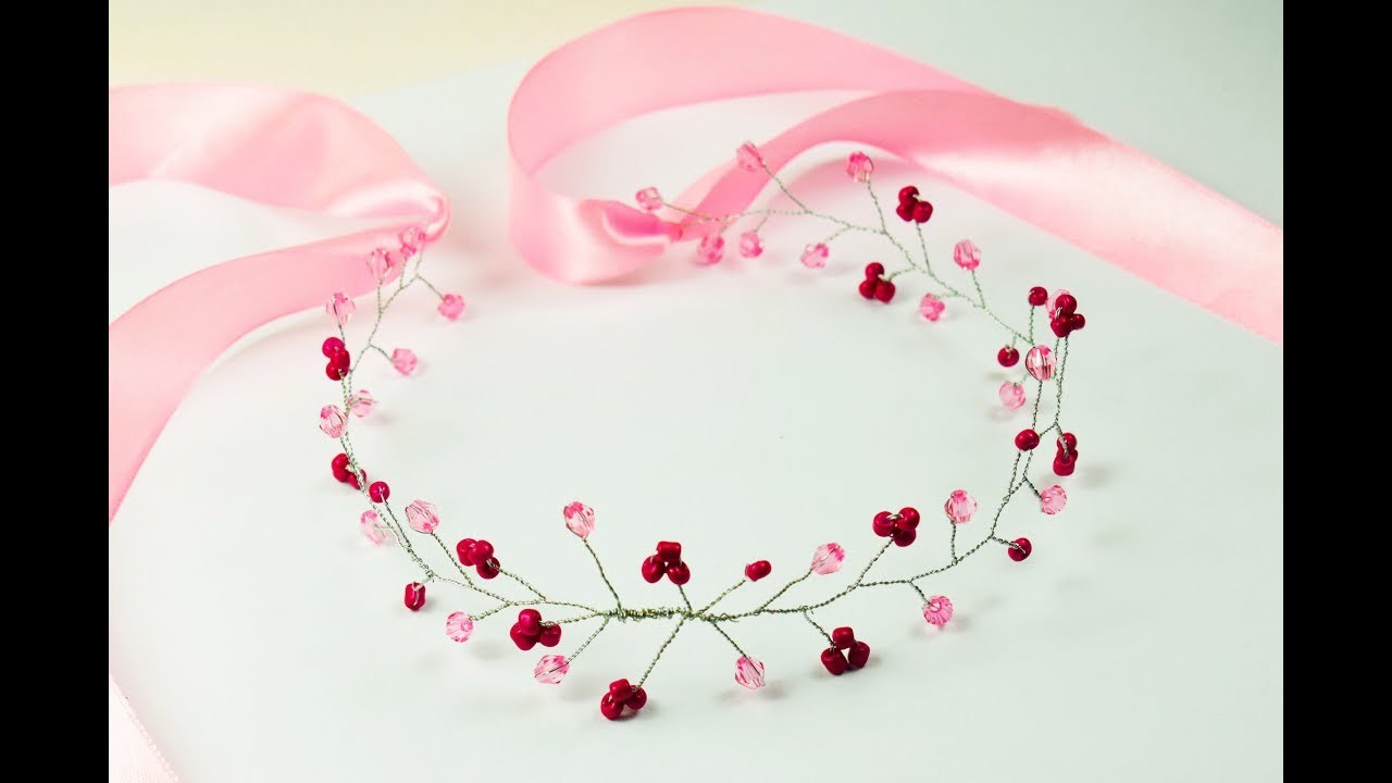 How to make vine bridal hair headpiece?