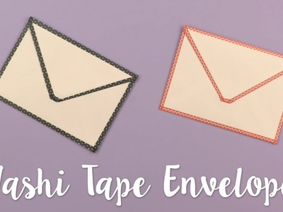 How to Update Envelopes with Washi Tape - Sizzix Lifestyle
