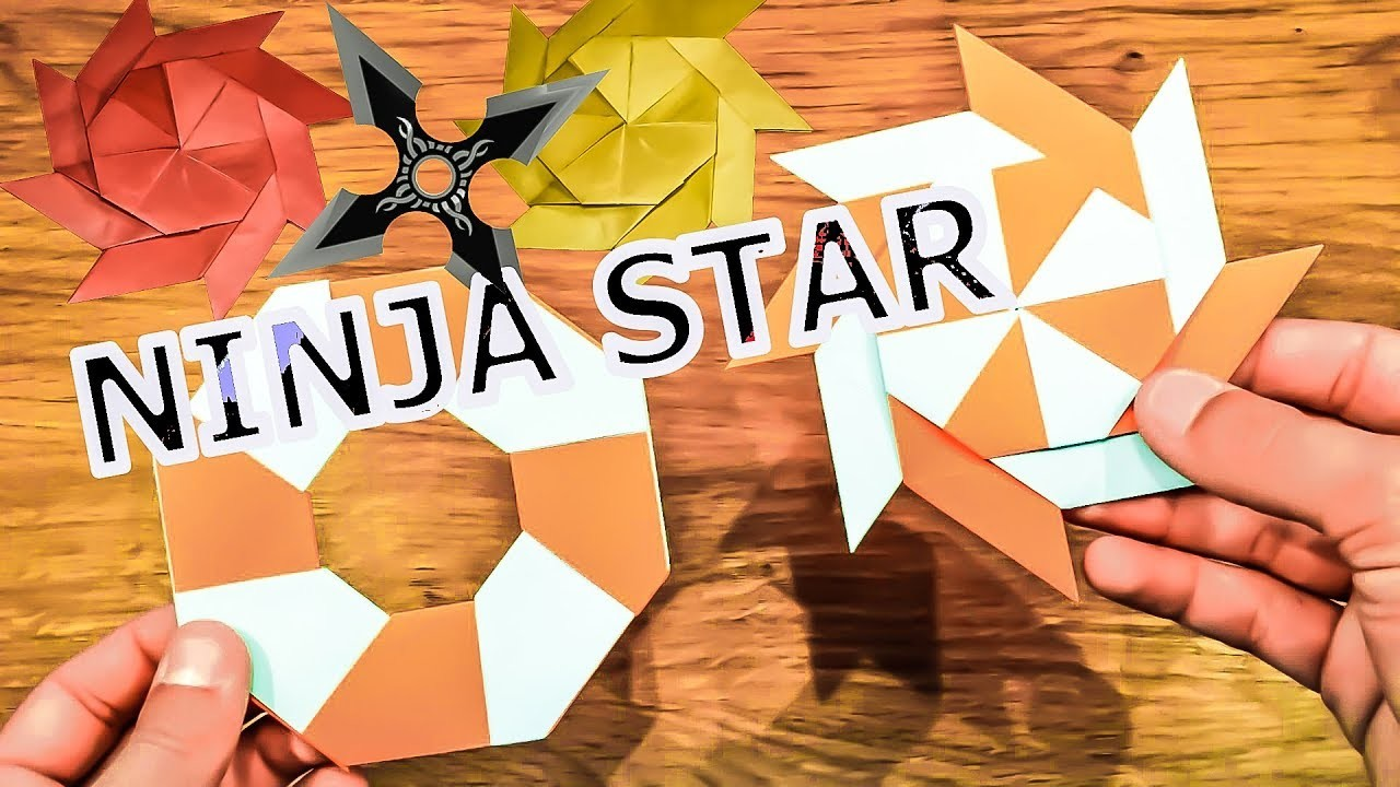 how to build a paper ninja star