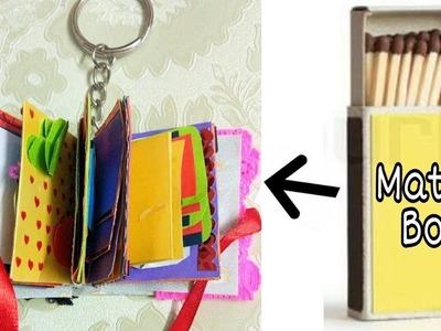 Mini scrapbook | How to make mini scrapbook key ring
