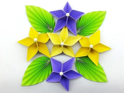 Craft, Paper Flower for Wall Decorations : How To Make Wall Hanging ...